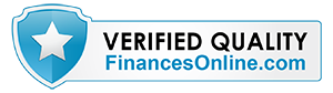 a badge for CyberStockroom by FinancesOnline saying 'Verified Quality'